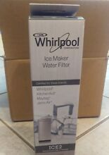 F2WC9I1 ICE2 Genuine OEM Whirlpool Ice Maker Water Filter FREE SHIPPING