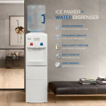 Ice Maker Counter Top Loading Hot Cold Water Cooler Child Safety Lock 3 Colors