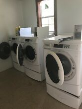 Commercial washers  6  and dryers  6