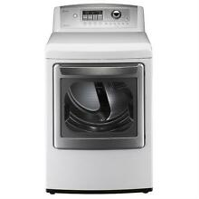 New LG DLE5001W 7 3 CU FT  Ultra Large Electric Dryer 240V   Local Pick up Only