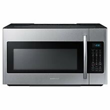 Samsung ME18H704SFS 1 8 cu  ft  Over the Range Microwave Oven