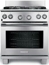 Electrolux ICON 30  Stainless Steel Dual Fuel Freestanding Range E30DF74GPS