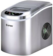 Mini Portable Compact Electric Ice Maker Machine For RV Boat Party Home Office