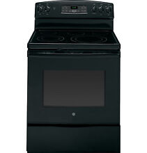 GE 30  Free Standing Electric Convection Range JB690DFBB  Black NEW