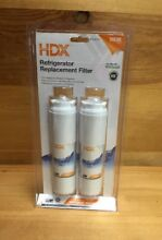 HDX FMM 2 Refrigerator Replacement Water Filter Fits Whirlpool  2 Pack