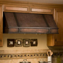 48  L x 18  H Limoges Series Copper Wall Mount Range Hood Hood Only