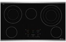 JENNAIR Electric Radiant Cooktop with Electronic Touch Control  36