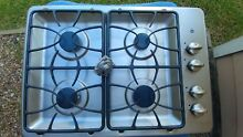 GE JGP329SET Stainless Steel 30 in  Gas Gas Cooktop