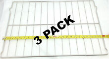 3 Pk  Oven Rack for Whirlpool  Sears  Kenmore  AP4411894  PS2358516  W10256908