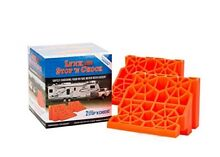 Wheel Stop Chock Tri Lynx 00018 Leveling Your RV Has Never Been Easier Pack Of 2