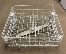 Whirlpool Kenmore Dishwasher Upper Dish Rack WPW10350382 With Wheels