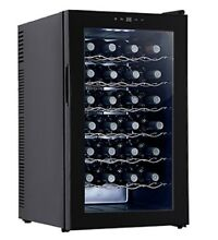 Mecor Wine Cooler Freestanding Thermoelectric Wine Refrigerator  28 Bottles