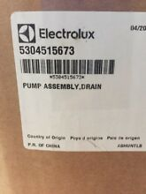 5304515673 Electrolux  FRIGIDAIRE CLOTHES WASHER DRAIN PUMP BRAND NEW