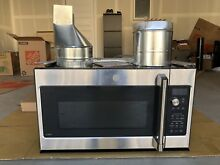 GE Cafe Series 2 1 Cu  Ft  Over the Range Microwave Oven