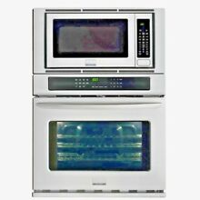 Frigidaire Wall Oven 30 in  Electric Convection Built In Microwave  Stainless