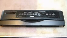 Kenmore Whirlpool Control Panel Only   BLACK 8542579 8269148