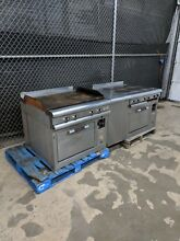 General Electric   Electric Griddle Top Oven AND 6 Burner Stove   WILL SHIP