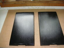 2   Jenn Air Electric Cooktop Range Black Burner Griddle or Grill Covers