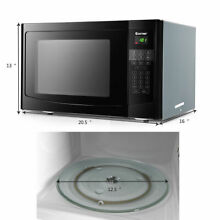 1 1 cu ft  Programmable Microwave Oven 1000W Countertop LED Display Kitchen New