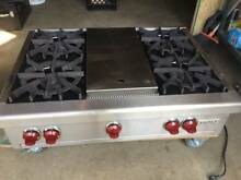 Wolf 36    RT364C Range Top Pro 4 Burners   CharBroil  Grill  Stainless Steel