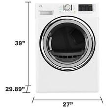 Kenmore 91382 7 4 Cu  Ft  Gas Dryer With Steam In White  Free Delivery