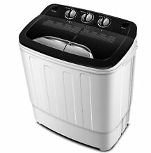 Portable Washing Machine TG23   Twin Tub Washer Machine with Wash and Spin Cy