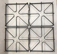 WB31K10028 GE Range Oven Burner Grates  Set of 4