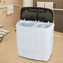 Portable Mini Compact Twin Tub 13lbs Washing Machine Washer  Spin Dryer   NEW