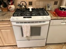Kitchen stove  refrigerator and microwave