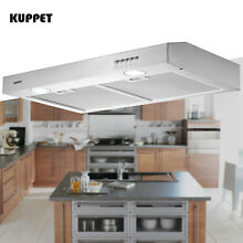 30  Under Cabinet Range Hood Stainless Steel Push Panel Kitchen w  Carbon Filter