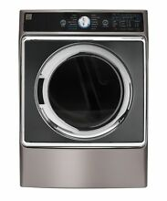 Kenmore Elite 9 0 cu  ft  Front Control Electric Dryer with Accela Steam in M