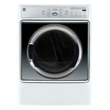 Kenmore Smart 9 0 cu  ft  Electric Dryer with Accela Steam Technology in Whit