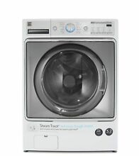 Kenmore Elite 41072 5 2 cu  ft  Front Load Washer with Steam Treat in White