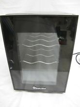 6 Bottle Wine Cooler Black Thermoelectric Refrigerator Dual Zone Beverage Cellar