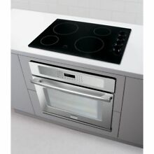 Frigidaire Stove Electric Cooktop 30  4 Element Ready Select Control Knobs Black