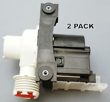 2 Pk  Washing Machine Pump for Frigidaire  AP5684706  PS7783938  137221600