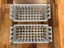 TWO  2  Genuine Frigidaire  Other Brands Freezer Upper Baskets NEW