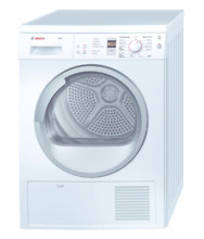 Bosch WTE86300US Axxis White Compact Condensation Dryer  24 Inch