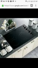 GE Profile 30 in  Black Built In Knob Ctrl Electric Induction Cooktop