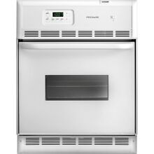 Frigidaire 24  White Single Electric Self Cleaing Wall Oven