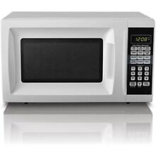 Hamilton Beach 0 7 Cu Ft Countertop Microwave Oven In Black Red Or White