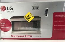 LG LCRT2010ST   2 0 Cu Ft Counter Top Microwave Oven ygas43