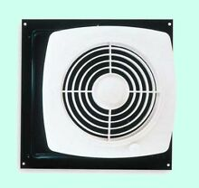 KITCHEN EXHAUST FAN Through Wall Ventilation Workshop Laundry Room w  Switch