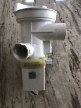 Bosch Washing Machine Drain Pump  works but weak for Parts Or Refurbished Only