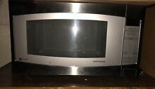 GE Profile Series 2 2 Cu  ft 1200 Watt Countertop Stainless Steel Microwave Oven