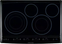 Electrolux Wave Touch Series  EW30EC55GB 30 Inch Smooth top Electric Cooktop