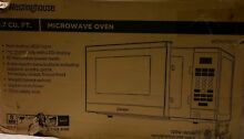 Westinghouse 0 7 Cu  Ft  Microwave Oven  White