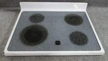 8187851 WHIRLPOOL RANGE OVEN MAIN TOP GLASS COOKTOP WHITE