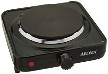 Portable Single Burner Hot Plate Beach Cast Iron Cooktop 1000 Watts EASY CLEAN