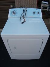 Used Whirlpool Gas Dryer White    Pick Up Only    NO Delivery